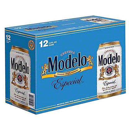 Modelo Especial Beer 12 PK Cans,12 OZ