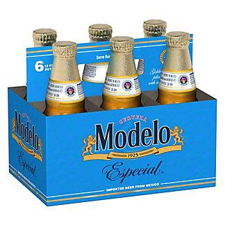 Modelo Especial Beer 6 PK Bottles,12 OZ