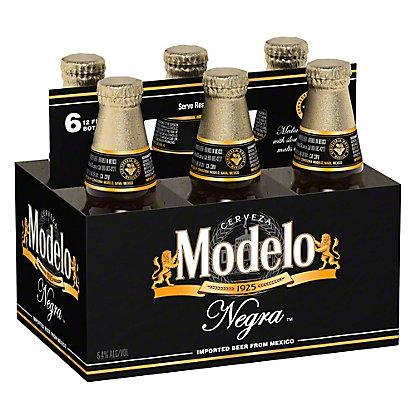 Negra Modelo Beer 6 PK Bottles,12 OZ