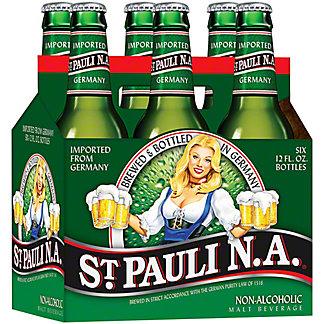 St. Pauli Girl Non-Alcoholic Beer 12 oz Bottles, 6 pk