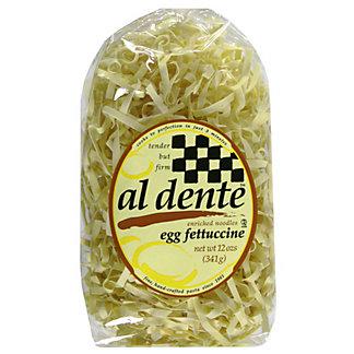 Al Dente Fettuccine Noodles, Egg,12 OZ