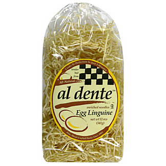 Al Dente Linguine Noodles, Egg,12 OZ