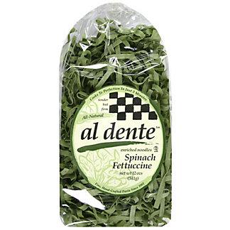 Al Dente Fettuccine Noodles, Spinach,12 OZ