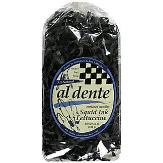 Al Dente Squid Ink Fettuccine, 12OZ