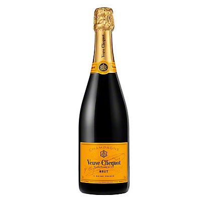Veuve Clicquot Yellow Label Brut Champagne, 750 mL