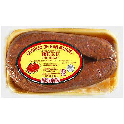 Chorizo de San Manuel Beef Chorizo,12 OZ