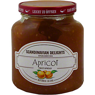 Scandinavian Delights Apricot Spread,14OZ