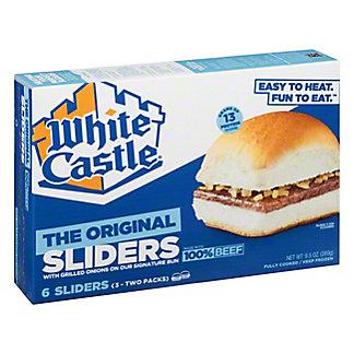 White Castle White Castle Microwaveable Hamburgers,6 CT