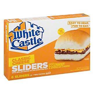 White Castle White Castle Cheeseburgers,6 ct