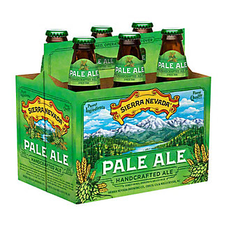 Sierra Nevada Pale Ale 6 PK Bottles, 12 oz