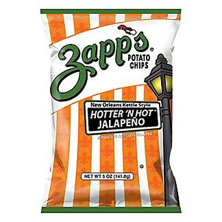 Zapp's Hotter 'n Hot Jalapeno Potato Chips, 5.5 oz