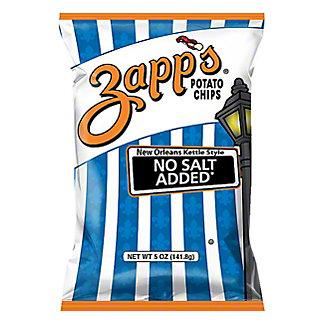 Zapp's No Salt (Just Great Taste) Potato Chips, 5.5 oz