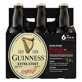 Guinness Extra Stout 6 PK,11.2 oz