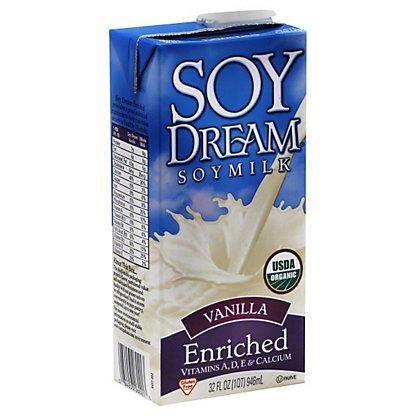 Soy Dream Enriched Organic Vanilla Soymilk, 32 oz