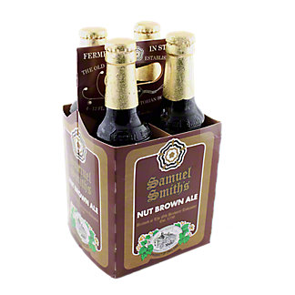 Samuel Smith Nut Brown Ale 4 PK Bottles,12 OZ