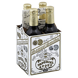 Samuel Smith Imperial Stout 4 PK Bottles,12 OZ