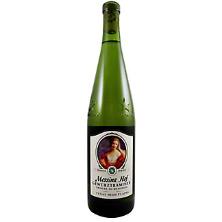 Messina Hof Gewurtztraminer White Wine, 750 mL