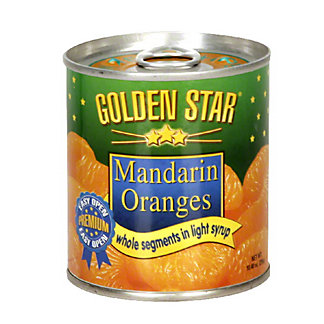 Golden Star Mandarin Oranges,10.4OZ