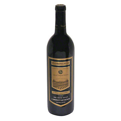 Pedroncelli Pedroncelli Three Vineyard Cabernet Sauvignon, 750.00 ml
