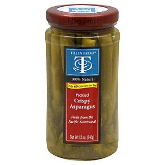 Tillen Farms Pickled Crispy Asparagus, 12 OZ