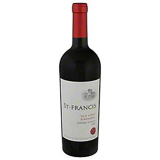St. Francis Winery Old Vines Zinfandel,750 ML