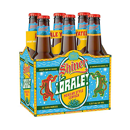 Shiner Strawberry Blonde Seasonal Beer 12 oz Bottles, 6 pk