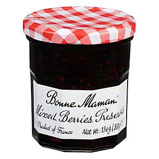 Bonne Maman Preserves, Mixed Berries,13 OZ