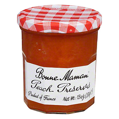 Bonne Maman Peach Preserves,13 OZ