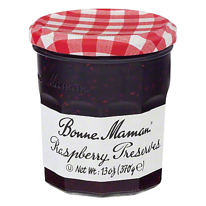 Bonne Maman Raspberry Preserves,13 OZ