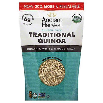 Ancient Harvest Organic Gluten Free Traditional Quinoa, 12 oz