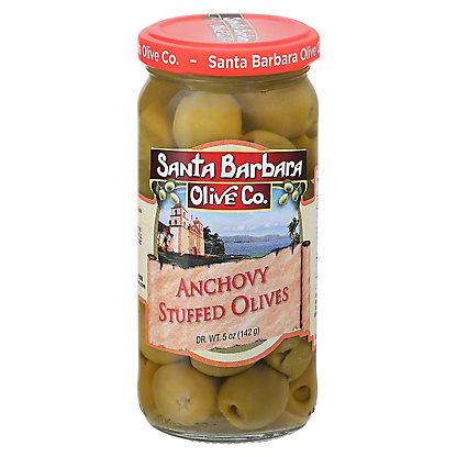 Santa Barbara Anchovy Stuffed Olives,5.00 oz