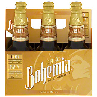 Bohemia Beer 6 PK Bottles,12 OZ