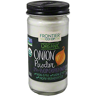 Frontier Organic White Onion Powder,2.10 oz