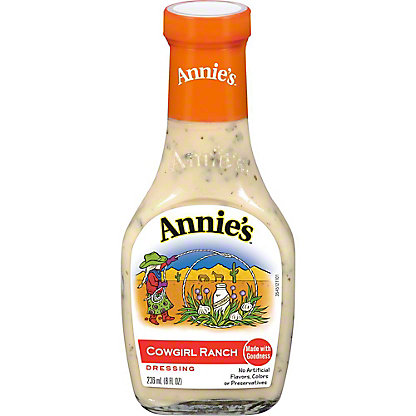 Annie's Naturals Cowgirl Ranch Dressing,8 OZ