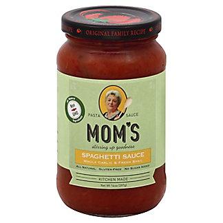 Moms Fresh Garlic & Basil Spaghetti Sauce,14 OZ