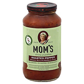 Moms Organic Roasted Pepper Pasta Sauce,26 OZ