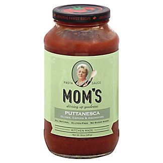 Moms Fresh Olives & Capers Puttanesca Pasta Sauce, 24 OZ