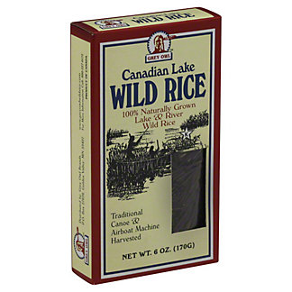 Grey Owl Canadian Lake Wild Rice,6 OZ