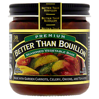 Better Than Bouillon Vegetable Base, Superior Touch,8 oz