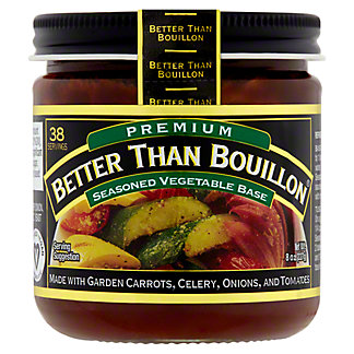 Better Than Bouillon Vegetable Base, Superior Touch,8 oz