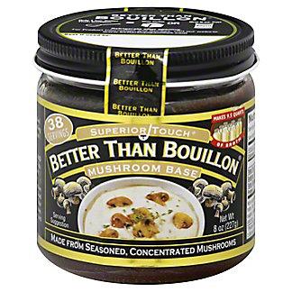 Superior Touch Better Than Bouillon Mushroom Base,8.00 oz