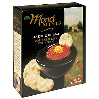 Monet Classic Water Crackers,5.5 OZ