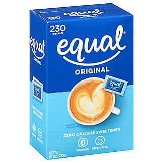 Equal 0 Calorie Classic Sweetener Packets,230 CT