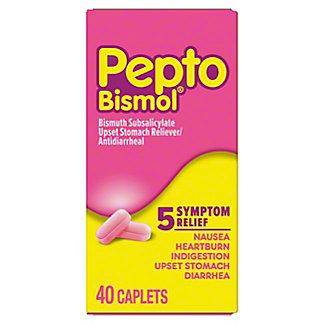 Pepto Bismol Original Chewable Tablets, 40 ct
