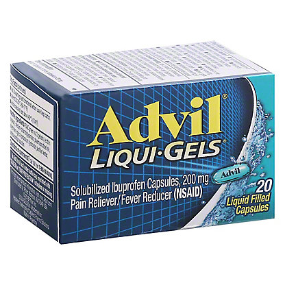 Advil Advil Liqui-Gels 200 mg capsules, 20 ct