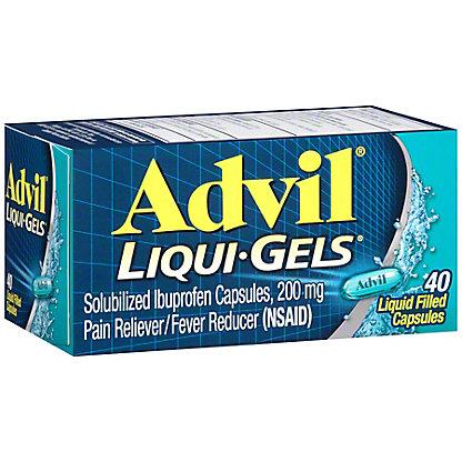 Advil Pain Reliever/Fever Reducer Ibuprofen 200 mg Liquid Filled Capsules,40 CT