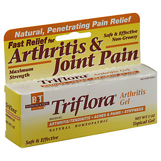 B&T Triflora Maximum Strength Arthritis Gel, 1 OZ