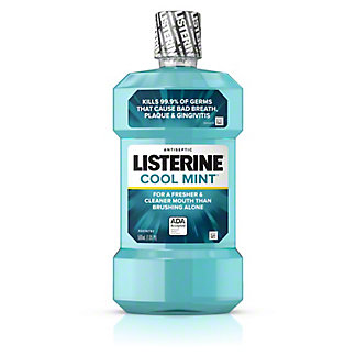 Listerine Cool Mint Antiseptic Mouthwash, 500 mL