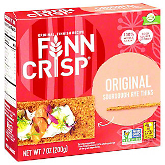 Finn Crisp Original Rye Crackers, 7 oz