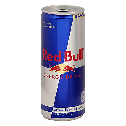 Red Bull Red Bull Energy Drink With Taurine,8.4 OZ